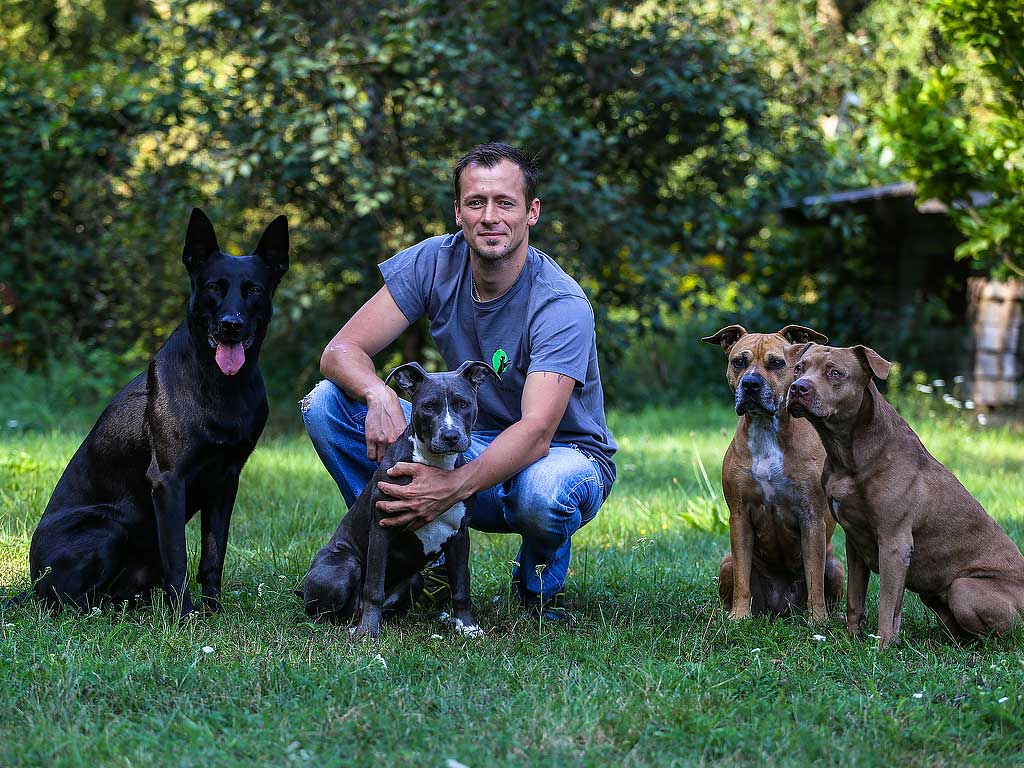 Robert Drobeck Hundegruppe